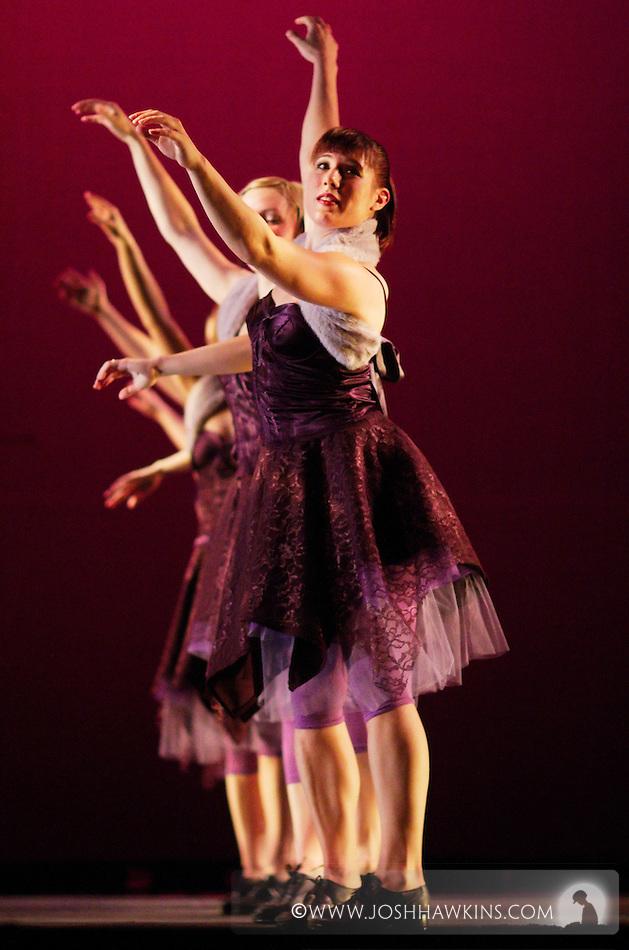 Chicago Tap Theatre - Tap!(ish).Destinations, choreography by Mark Yonally.Dancer, Laura Chiuve (Josh Hawkins)