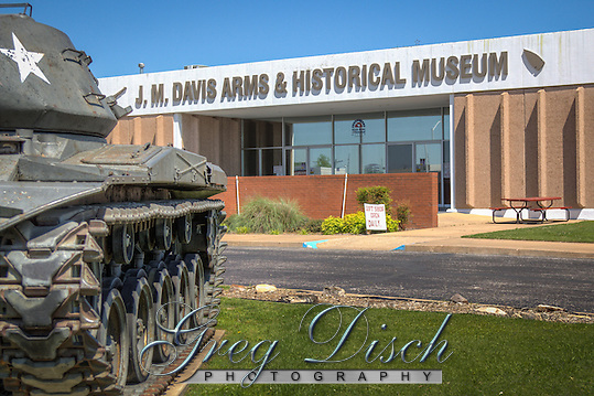 The J.M. Davis Gun Museum is the world's largest privately owned gun collection, located on Route 66 in claremore Oklahoma. (Greg Disch)