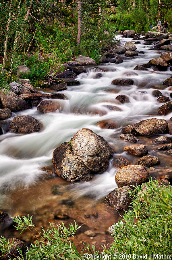 Running Water, South Fork Bishop Creek, Inyo National Forest. Image taken with a Nikon D3s camera and 50 mm f/1.4 lens (ISO 200, 50 mm, f/16, 1.6 sec). (David J Mathre)