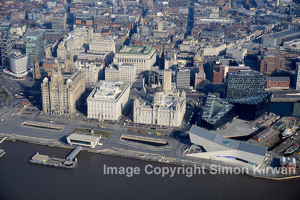 Liverpool Waterfront Aerial Photography By Simon Kirwan