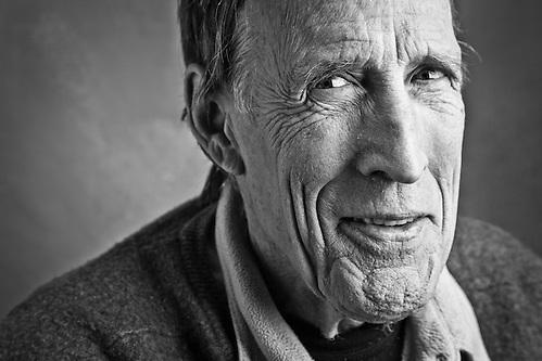 Alaska film maker, Bill Bacon, Anchorage (Clark James Mishler)