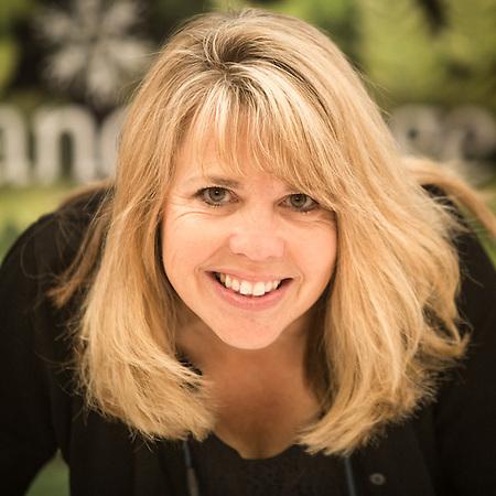 Delegate Julie Saupe at the ATIA Conference in Fairbanks (© Clark James Mishler)