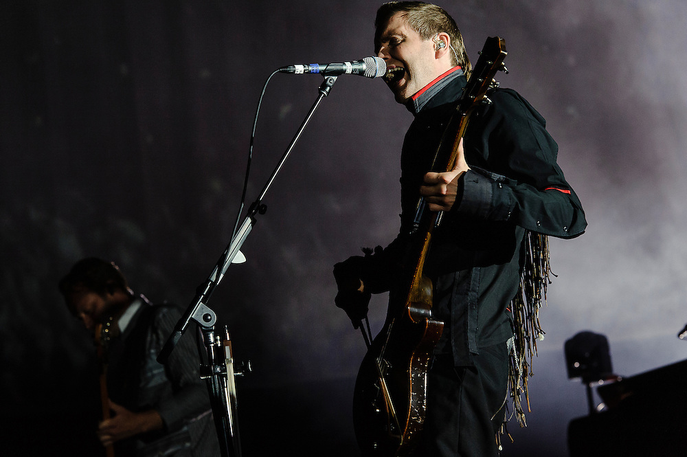 Photos of the Icelandic rock band Sigur Ros performing for Celebrate Brooklyn! at Prospect Park Bandshell in Brooklyn, NY. July 31, 2012. Copyright © 2012 Matthew Eisman. All Rights Reserved. (Photo by Matthew Eisman/ Getty Images)