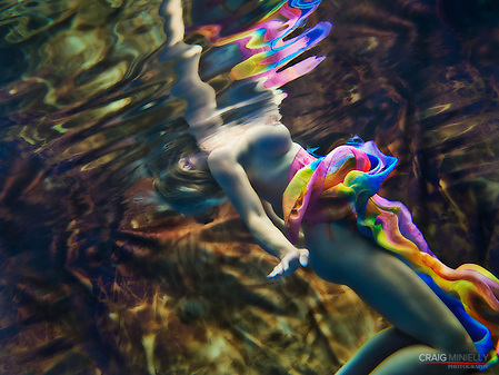 Underwater Fina Art at Playa Escondida Resort (Craig Minielly, MPA, M. Photog.,)