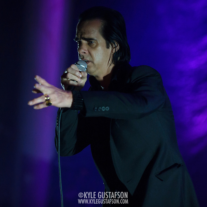 WASHINGTON, DC - July 23, 2014 - Nick Cave and the Bad Seeds perform at DAR Constitution Hall. (Photo by Kyle Gustafson / www.kylegustafson.com) (Kyle Gustafson/Photo by Kyle Gustafson)