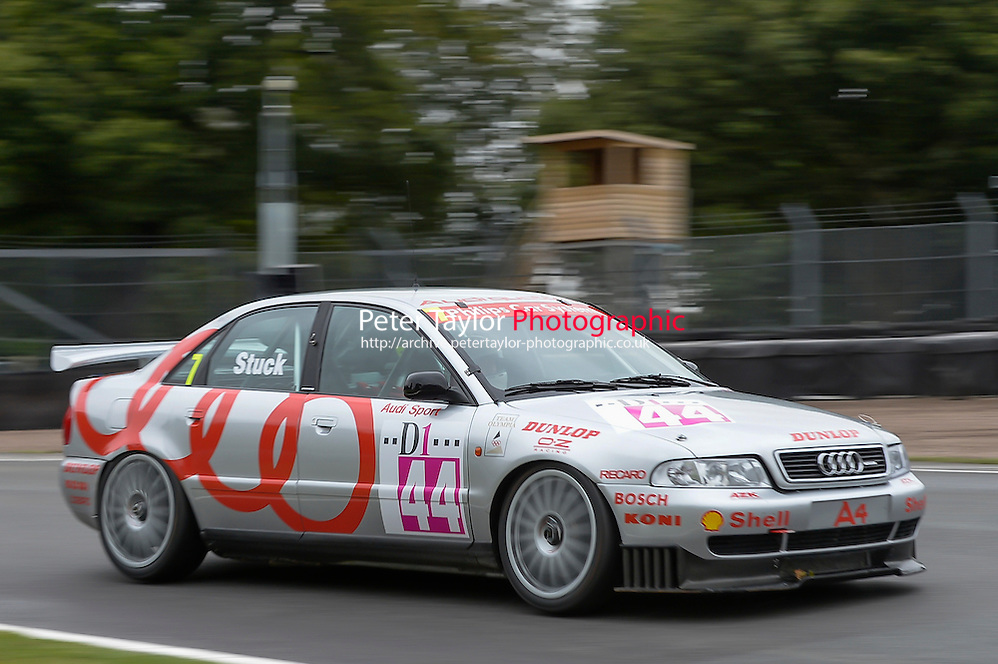 #7 Paul Smith - Audi Quattro during Race 14 HSCC Super Touring Car Championship race two at Oulton Park, Little Budworth, Cheshire, United Kingdom. August 25 2014. World Copyright Peter Taylor. Copy of publication required for printed pictures. Every used picture is fee-liable. http://archive.petertaylor-photographic.co.uk (Peter Taylor)