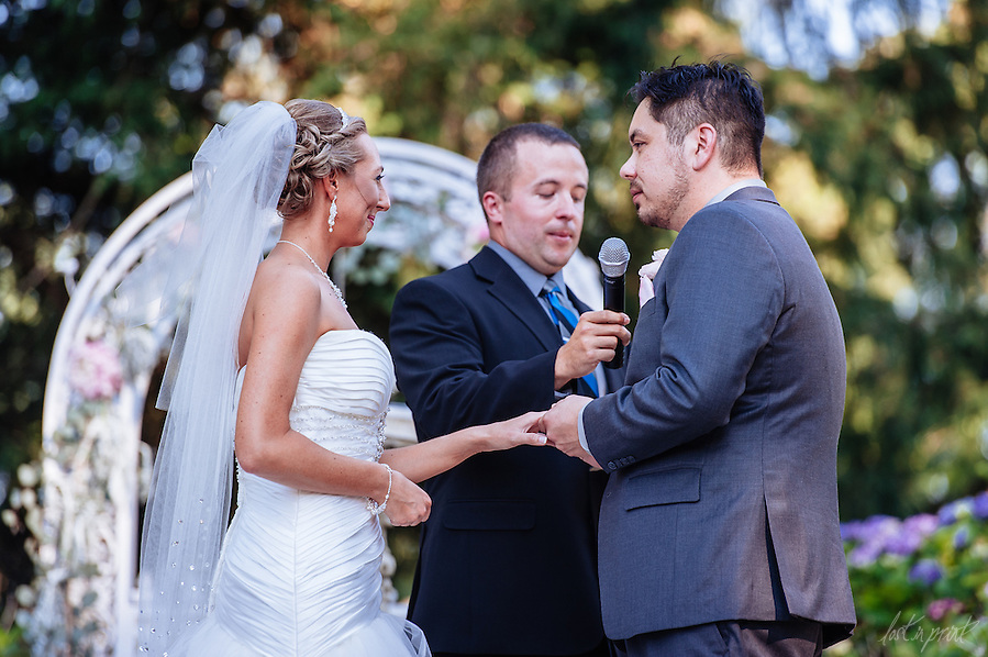 Lindsey & Raleigh, Married July 3, 2015 at Thornewood Castle in Tacoma, Washington. (Brendan Shanley)