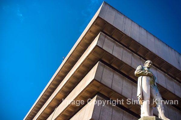 Keep the Ziggurat - Birmingham Central Library - Photo By Simon Kirwan
