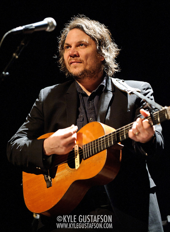 WASHINGTON, D.C. - DECEMBER 8th, 2010:  Wilco frontman Jeff Tweedy performs in front of a sold out crowd at the Lincoln Theater on U Street. Tweedy is currently playing select solo dates around the country. (Photo by Kyle Gustafson/For The Washington Post) (Photo by Kyle Gustafson / For The Washington Post)