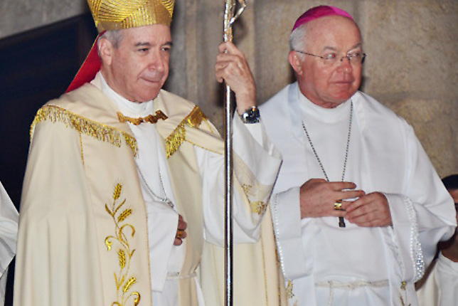 Llama prepotente al arzobispado de Santo Domingo por tema del nuncio