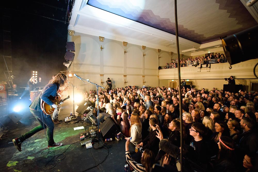 Photos of the Icelandic rock band Kaleo performing live at Gamla Bíó in Reykjavik, Iceland. November 29, 2014. Copyright © 2014. Matthew Eisman. All Rights Reserved (Matthew Eisman/Photo by Matthew Eisman)