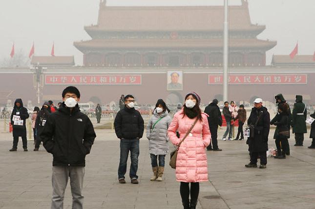 Contaminación en China: Algo intolerable para su población.
