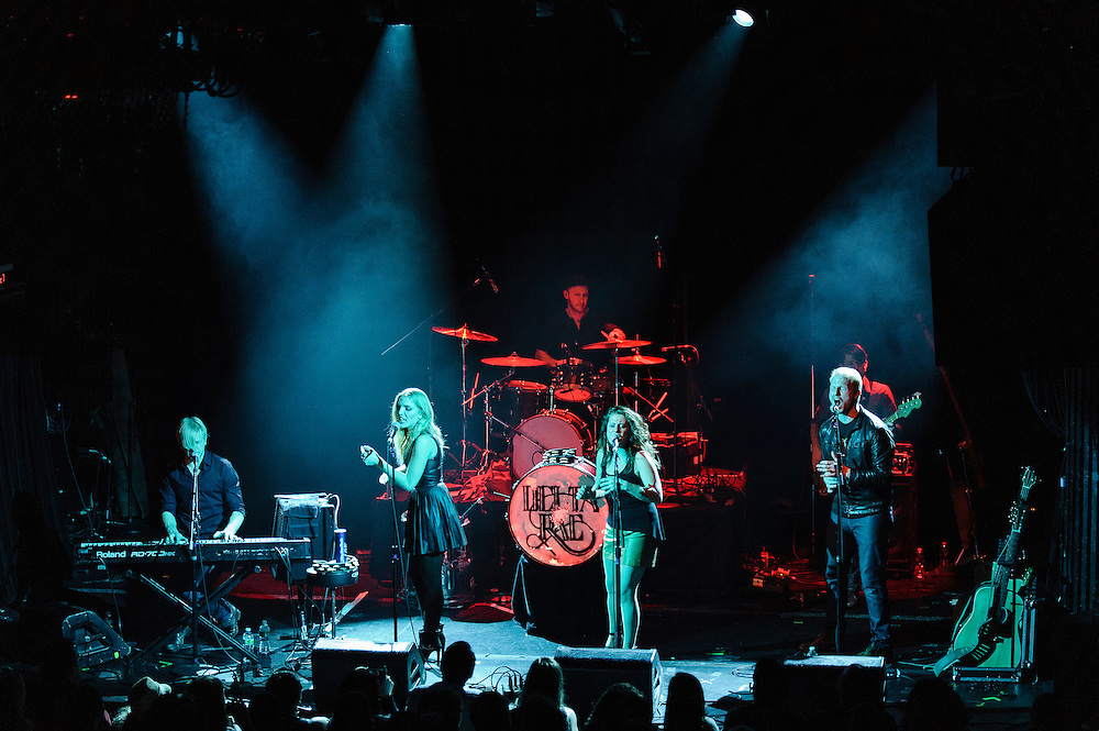 Photos of the band Delta Rae performing live at Irving Plaza, NYC. March 5, 2013. Copyright © 2013 Matthew Eisman. All Rights Reserved. (Photo by Matthew Eisman/Getty Images)
