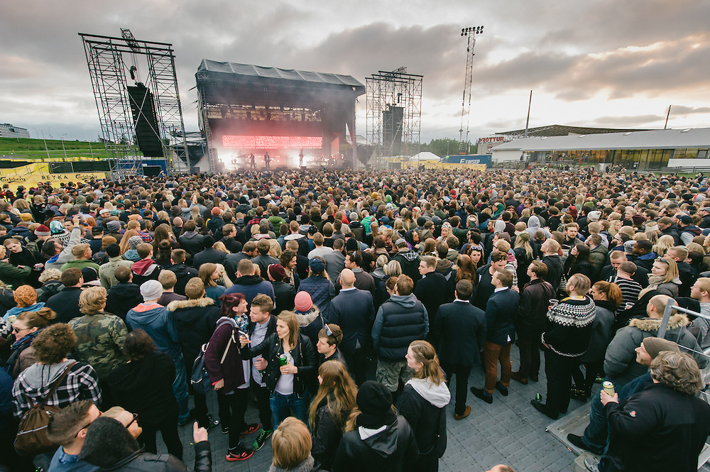 Photos of Massive Attack performing live at Secret Solstice Music Festival 2014 in Reykjavík, Iceland. June 21, 2014. Copyright © 2014 Matthew Eisman. All Rights Reserved (Matthew Eisman/Photo by Matthew Eisman)
