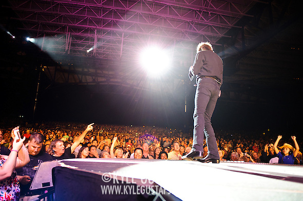 """Bristow, VA. - August 1st, 2010:  Country Music duo Brooks & Dunn perform at Jiffy Lube Live as part of their """"Last Rodeo"""" Tour.  The duo, made up of Kix Brooks and Ronnie Dunn, is calling it quits after 20 years and 20 number one country hits. (Photo by Kyle Gustafson/For The Washington Post) (Photo by Kyle Gustafson)"""