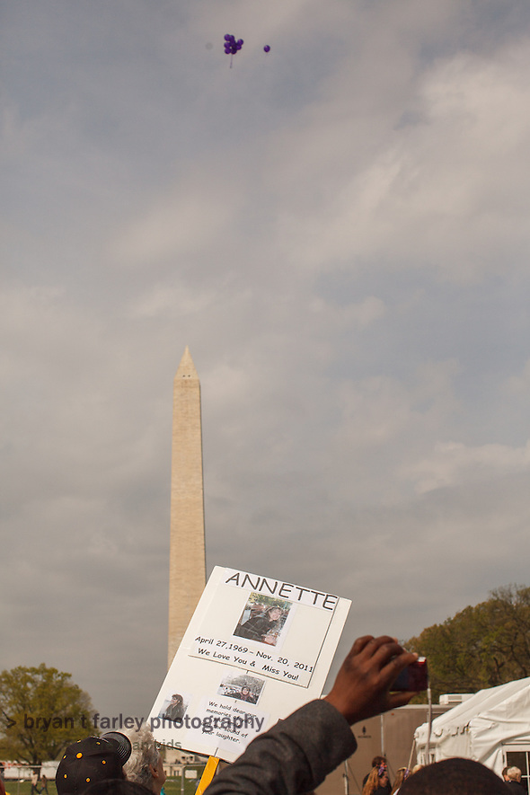 The 6th Annual National Walk for Epilepsy took place on Saturday, March 31, 2012 at the National Mall. (bryan farley)
