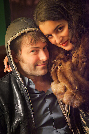 Ahren Lutz and his girlfriend, Signe Bergmark, Oscar Gill House (Clark James Mishler)