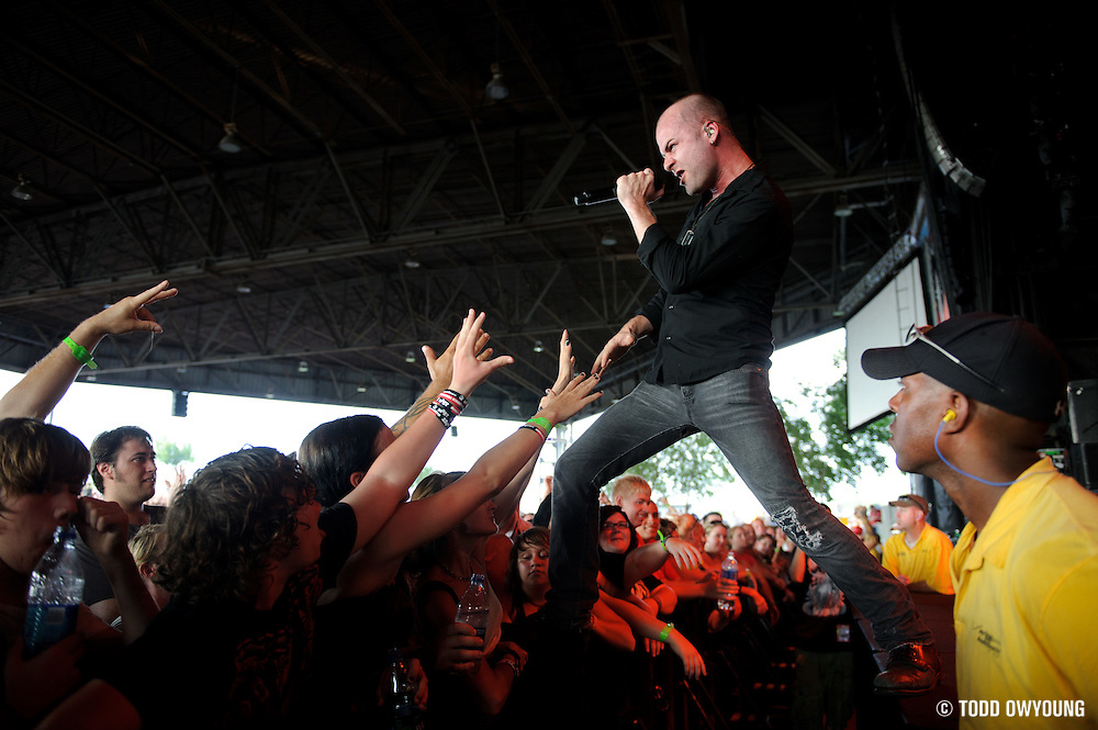 Photos of the hard rock band Hurt performing at Pointfest 27 on August 14, 2010 in St. Louis. (TODD OWYOUNG)