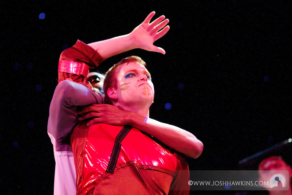"Chicago Tap Theatre's production ""Changes"" - A science fiction tap dance opera featuring the music of David Bowie at Stage 773 in Chicago (Josh Hawkins)"