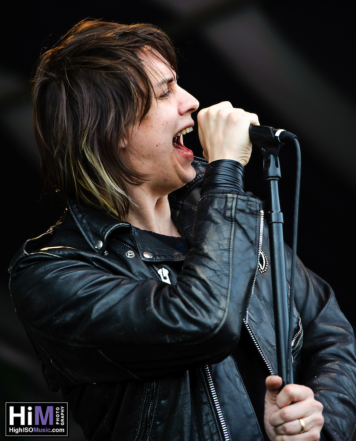 The Strokes playing at Jazz Fest 2011 in New Orleans, LA on day 6. (Golden G. Richard III)