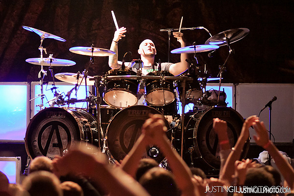 Atreyu Concert House Of Blues Chicago Brandon Saller Drums