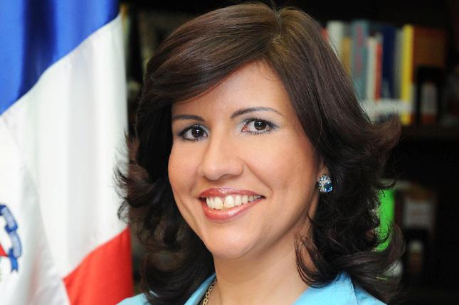 Margarita Cedeño, vicepresidenta de la República y esposa del ex presidente Leonel Fernández