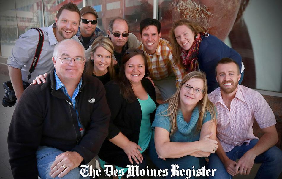 on Wednesday, Oct. 15, 2014, in Udell, Iowa. (Charlie Litchfield/The Register)