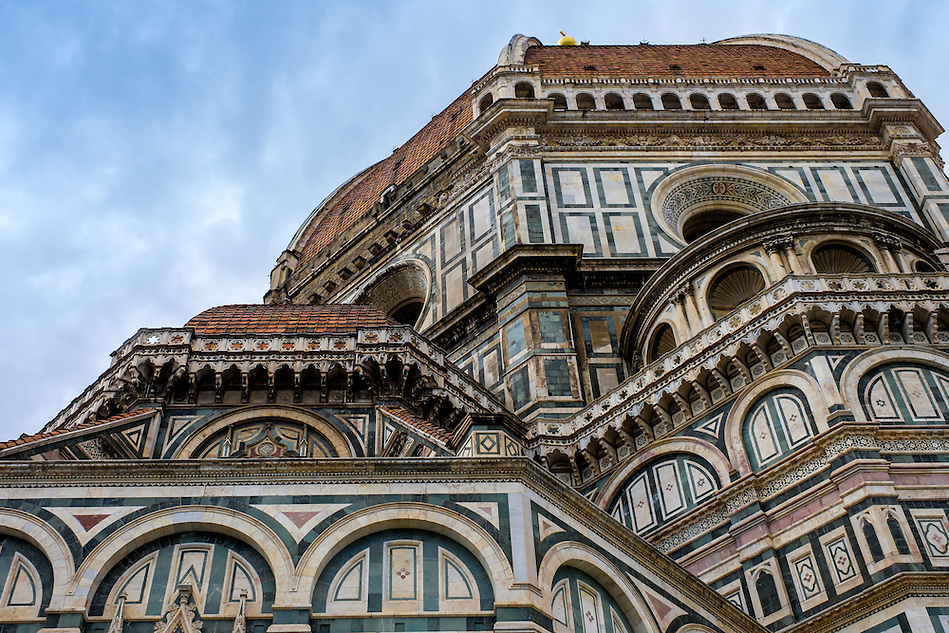 FLORENCE, ITALY - CIRCA MAY 2015: Architectural detail of the  Florence Cathedral,  Santa Maria del Fiore, known as The Duomo (Daniel Korzeniewski)