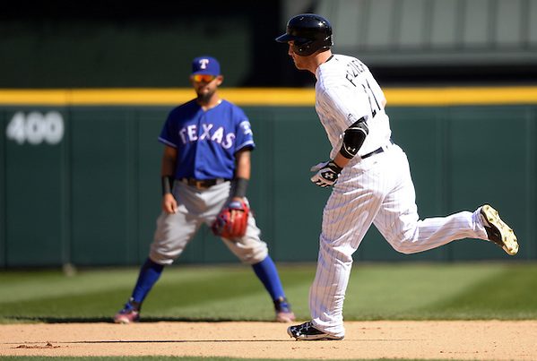 CHICAGO - APRIL 23: Todd Frazier #21 of the Chicago White Sox runs the bases after hitting a game tying home run in the ninth inning against the Texas Rangers on April 23, 2016 at U.S. Cellular Field in Chicago, Illinois. The White Sox defeated the Rangers 4-3 in 11 innings. (Photo by Ron Vesely) Subject: Todd Frazier (Ron Vesely)