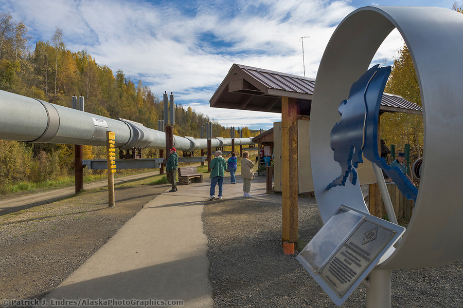 Trans Alaska Oil Pipeline Photos And Information About Its