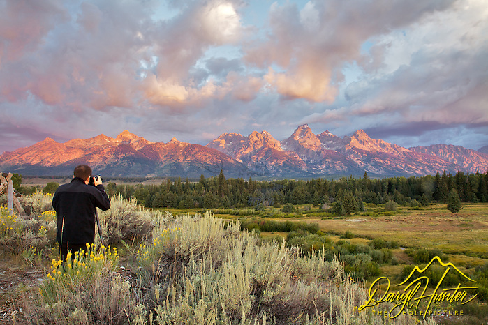 Photograher, Grand Teton Sunrise, Grand Teton National Park (© Daryl L. Hunter - The Hole Picture/Daryl L. Hunter)