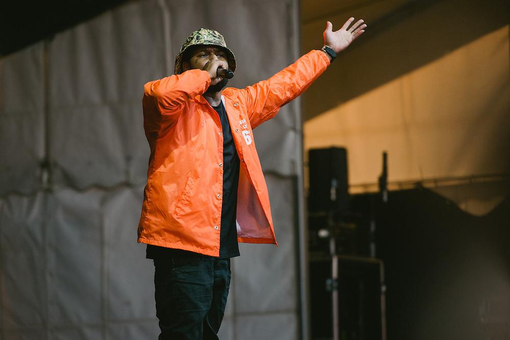 Photos of Schoolboy Q performing live at Secret Solstice Music Festival 2014 in Reykjavík, Iceland. June 22, 2014. Copyright © 2014 Matthew Eisman. All Rights Reserved (Matthew Eisman/Photo by Matthew Eisman)