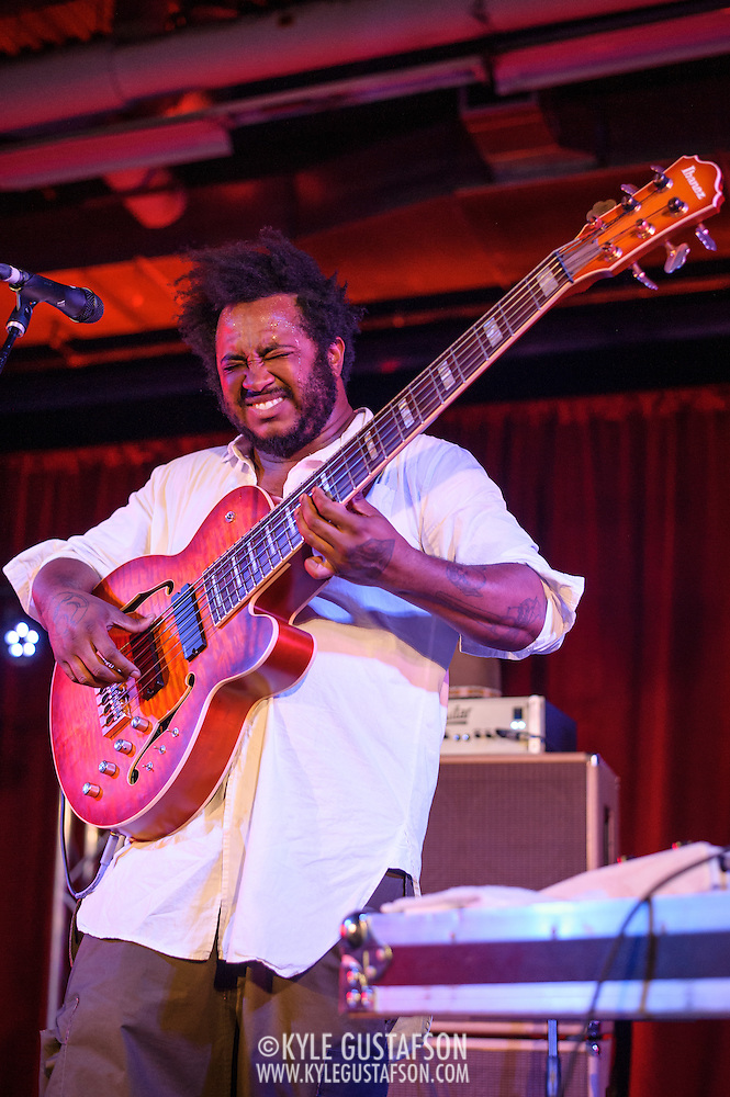 WASHINGTON, DC - June 13, 2015 - Thundercat performs at the Hecht Warehouse as part of the DC Jazz Festival.  Thundercat has released two solo albums as well as working with artists such as Kendrick Lamar, Erykah Badu and Flying Lotus. (Photo by Kyle Gustafson / For The Washington Post) (Kyle Gustafson/For The Washington Post)