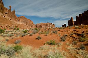 Park Avenue, Arches National Park, Utah, US (Roddy Scheer)