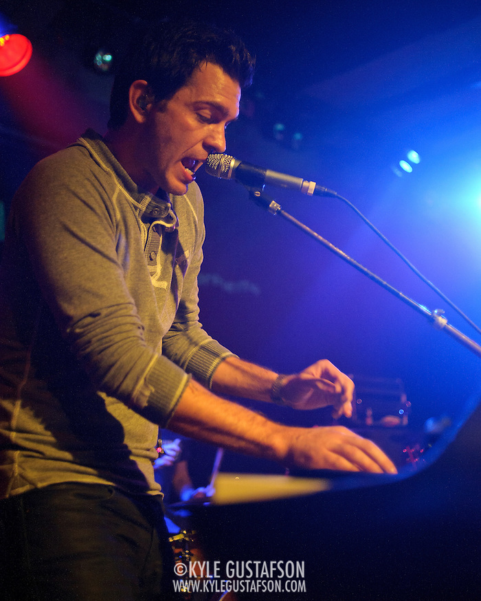 VIENNA, VA - February 8th, 2012 - Singer-songwriter Andy Grammer performs a sold-out show at Jammin' Java in Vienna, VA. Grammer's self-titled debut album debuted at #94 on the Billboard Hot 100 last year.  (Photo by Kyle Gustafson/For The Washington Post) (Kyle Gustafson/FTWP)
