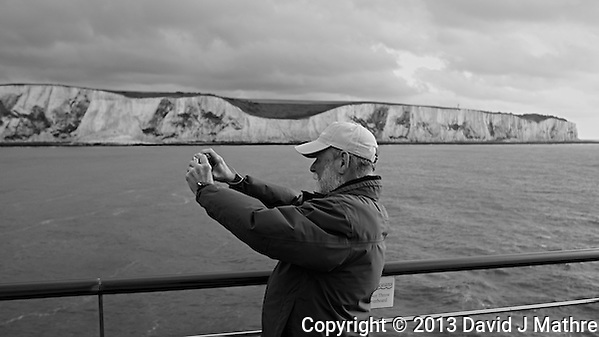 Arriving in Dover, England on the MV Explorer. Image taken with a Leica X2 camera (ISO 100, 24 mm, f/4.5, 1/125 sec). Semester at Sea Spring 2013 Enrichment Voyage. (© 2013 David J Mathre)