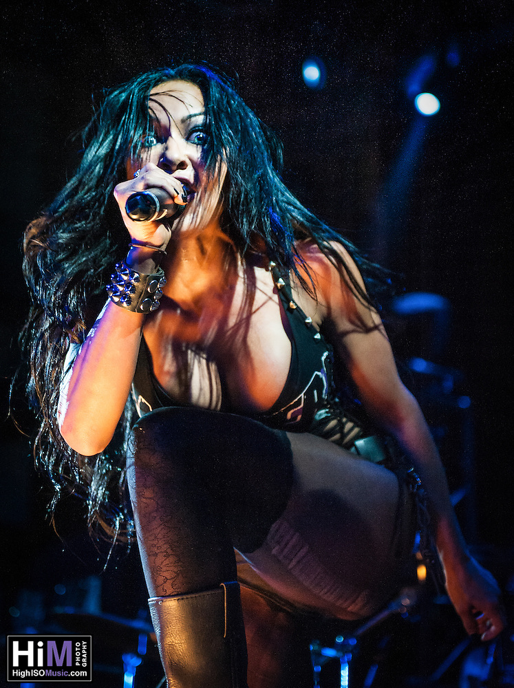 The Butcher Babies perform at the House of Blues in New Orleans, LA on May 27, 2014. (HIGH ISO Music, LLC)
