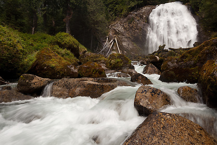 Chatterbox Falls, a remote waterfall at the end of Princess Louisa inlet along the shore of Britsh Columbia. (Benjamin Chase / Ben Chase Photography)