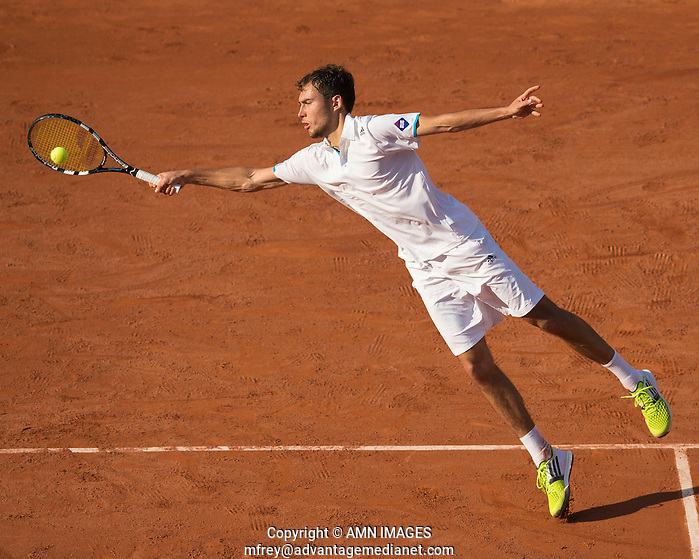 JERZY JANOWICZ (SRB) Tennis - French Open 2014 -  Toland Garros - Paris -  ATP-WTA - ITF - 2014  - France  30th June 2014.  © AMN IMAGES (FREY/FREY- AMN Images)