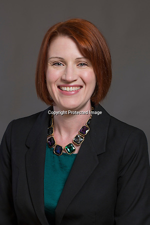 Head shot of Erica Preston with Chambers Bank in Fayetteville, Arkansas. Photo by Beth Hall (Beth Hall)