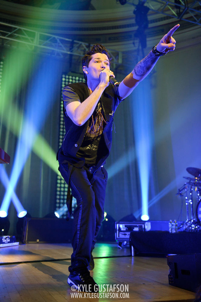 WASHINGTON, D.C. - November 7th, 2012 - Danny O'Donoghue of The Script performs at DAR Constitution Hall in Washington, D.C.  The band's recently released third album, titled #3, reached number two in the UK charts and number 13 in the US Billboard 200. (Photo by Kyle Gustafson/ For The Washington Post) (Kyle Gustafson/For The Washington Post)