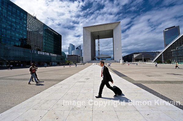La Defense, Paris (Simon Kirwan)