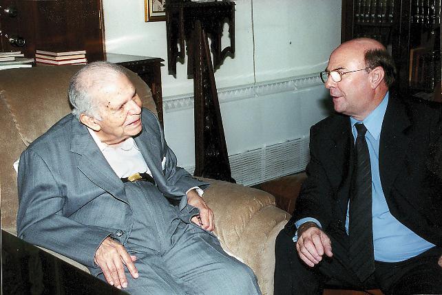 Joaquín Balaguer e Hipólito Mejía