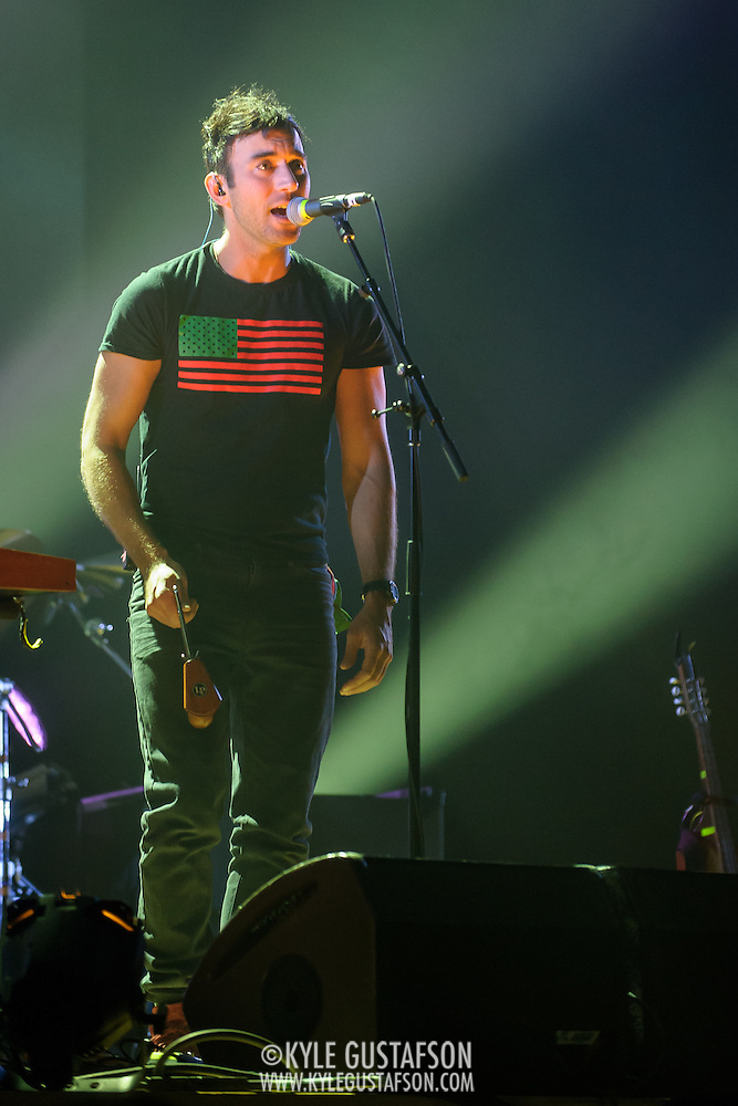 WASHINGTON, DC - May 5, 2015 - Sufjan Stevens performs at DAR Constitution Hall in Washington, D.C. Stevens released Carrie & Lowell, his seventh studio album, in March.   (Photo by Kyle Gustafson / For The Washington Post) (Kyle Gustafson/For The Washington Post)