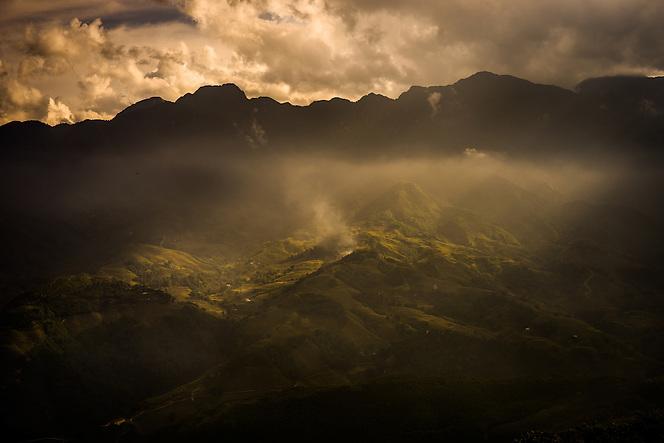 A landscape near Sapa, Vietnam (Quinn Ryan Mattingly)