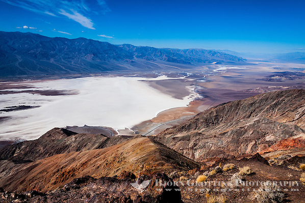 United States, California, Death Valley. From Dante's View 5,500 feet (1,700 m) above sea level. Great view of central part of Death Valley. (Photo Bjorn Grotting)