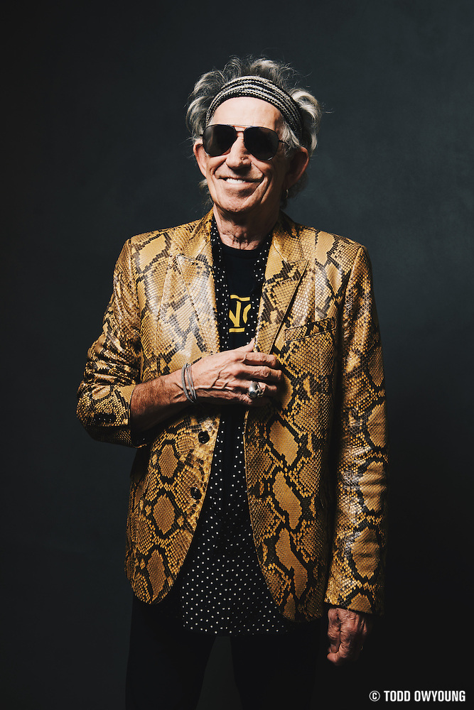 Keith Richards visits iHeartRadio for an ICONS event at the iHeartRadio Theater, presented by P.C. Richard & Son. New York City, September 15, 2015. Processed with VSCOcam with hb2 preset (Chris Owyoung)