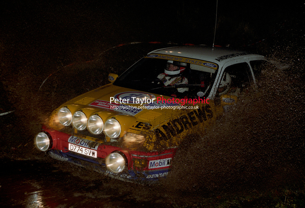 #33, Russell Brookes, Neil Wilson, Ford Sierra RS Cosworth, Andrews Sykes Ford Champions Team, (Peter Taylor)