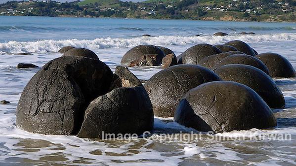 Moeraki Boulders, Koekohe Beach, Otago Coast, New Zealand - Travel Photography By Simon Kirwan