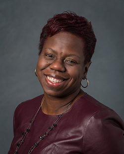 Paula Pierre poses for a photograph, January 13, 2016. (Dave Einsel/Houston ISD)